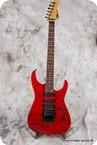 Charvel San Dimas USA 1995 See Thru Red