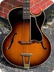 Gibson L 4C Cutaway 1956 Dark Sunburst Finish