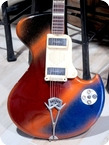 Wandre ROCK OVAL GUITAR 1959 Multi Color Sparkle Finish