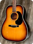 Gretsch 6009 JUMBO FLAT TOP 1969 Dark Sunburst Finish