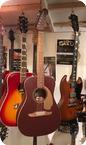 Fender indonesia Malibu Burgunday Mist Metallic