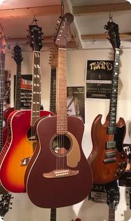 Fender (indonesia) Malibu Burgunday Mist Metallic