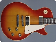 Gibson-Les Paul Deluxe-1973-Cherry Sunburst