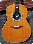 Ovation 1712 Custom Balladeer 1990 Natural Finish