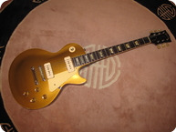 Gibson-Les Paul Standard Gold Top 1 Pc-1969-GGold Top