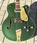 Gretsch-6196 COUNTRY CLUB-1955-Cadillac Green Finish