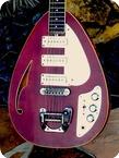 Vox MK.VI TEARDROP Hollow Body 1968 Dark Cherry Finish
