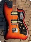 Guild S 200 THUNDERBIRD 1966 Sunburst Finish