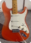 Fender Stratocaster 1975 Orange Lucite Body