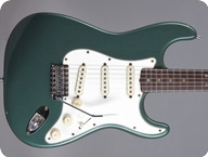 Fender Stratocaster 1966 Sherwood Green Metallic refin