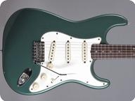 Fender Stratocaster 1966 Sherwood Green Metallic refin