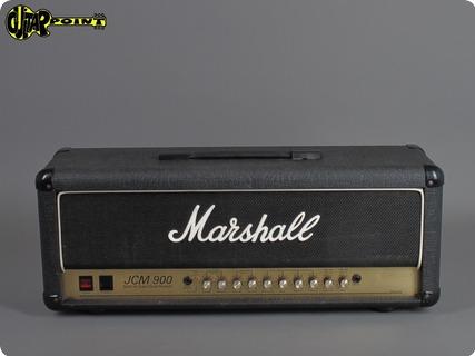 Marshall Jcm 900   4500   Reverb 1991 Black Levant