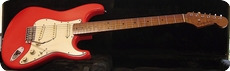 Real Guitars Standard Build S 2020 Fiesta Red