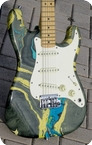 Fender STRATOCASTER 1983 Blue Bowling Ball Finish