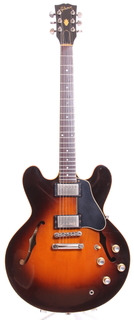 Gibson Es 335 Dot Custom Shop Edition 1982 Sunburst