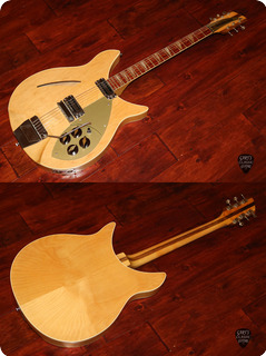 Rickenbacker Guitars 365 Capri  1960 Mapleglo