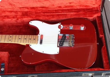 Fender Telecaster 1967 Red