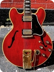 Gibson-ES-355TDCSV STEREO VARITONE-1962-Faded Cherry Red Finish