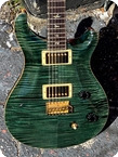 PRS 10TH ANNIVERSARY 38 OF 200 1995 Teal Black Finish