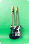 Mosrite-Joe Maphis Double Neck 6-12 String-1966-Blue