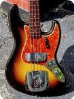 Fender Jazz Bass Stack Knob 1960 Original RedBrown 2 12 tone Sunburst Finish