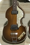 Hofner 5001 Beatle Bass 1962 Sunburst Finish