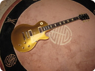 Gibson-Les Paul Deluxe ONE PC-1969-Gold Top 1 Pc