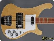 Rickenbacker 4001 1974 Natural