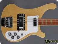 Rickenbacker 4001 1974 Natural