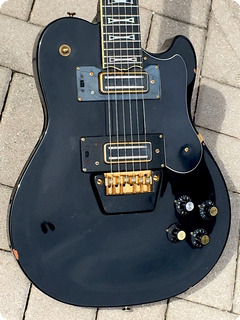 Ovation 1291 Uk Ii 1980 Factory Black Finish