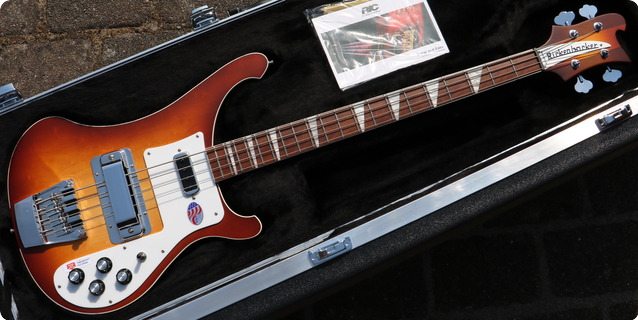 Rickenbacker 4003 2020 Ag2 Autumnglo Limited