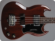 Gibson-EB-0 Bass-1968-Cherry