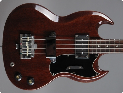 Gibson Eb 0 Bass 1968 Cherry