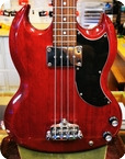 Epiphone By Gibson SG Bass Red