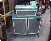 Tone King-Continental Mark I-1990-Turquoise