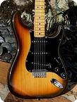 Fender-Stratocaster -1979-Sunburst Finish
