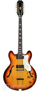 Gibson Epiphone Riviera 360td 12 String Sunburst 1966