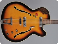 Framus Star Bass 1505 Bill Wyman 1965 Sunburst