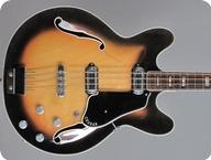Vox V214 Cougar Bass 1965 Sunburst