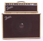 Fender Showman 12 JBL 6G14 Export 1962 Blond Oxblood
