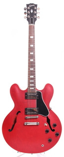 Gibson Es 335 Block Inlay 2015 Satin Cherry Red