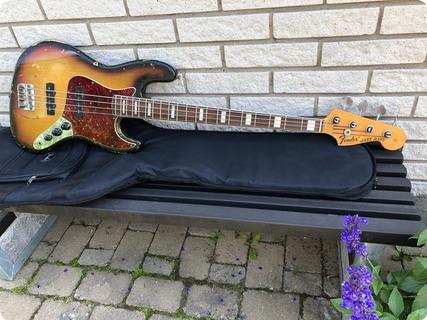 Fender Jazz Bass 1969 3 Tone Sunburst