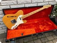 Fender-Telecaster Thinline-1969-Natural Ash