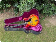 Gibson-Barnel Kessel Custom-1968-Cherry Sunburst