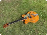 Gretsch 6120 Nashville 1965 Orange Stain
