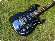 Burns Guitars Jazz Split Sound 1963 Black