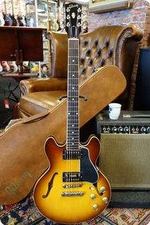 Gibson Es 339 2020 Gloss Light Caramel Burst #712
