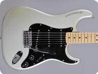 Fender-Stratocaster 25th Anniversary-1979-Silver Metallic
