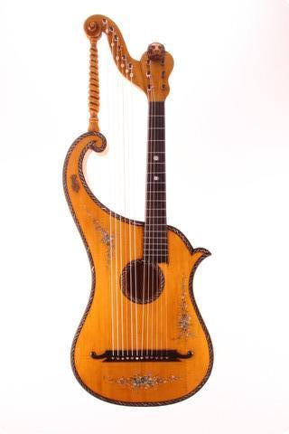 Albertus Blanchi Harp Guitar 1900
