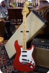 Fender Stratocaster Hard Tail International Colour Series 1979 Red